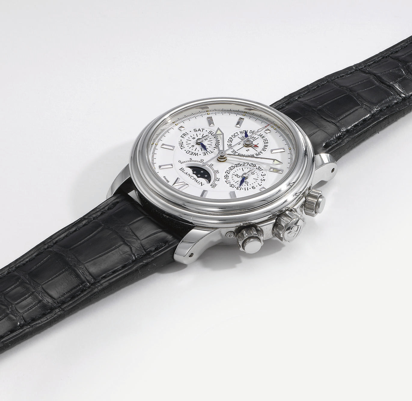 Blancpain. A fine stainless st