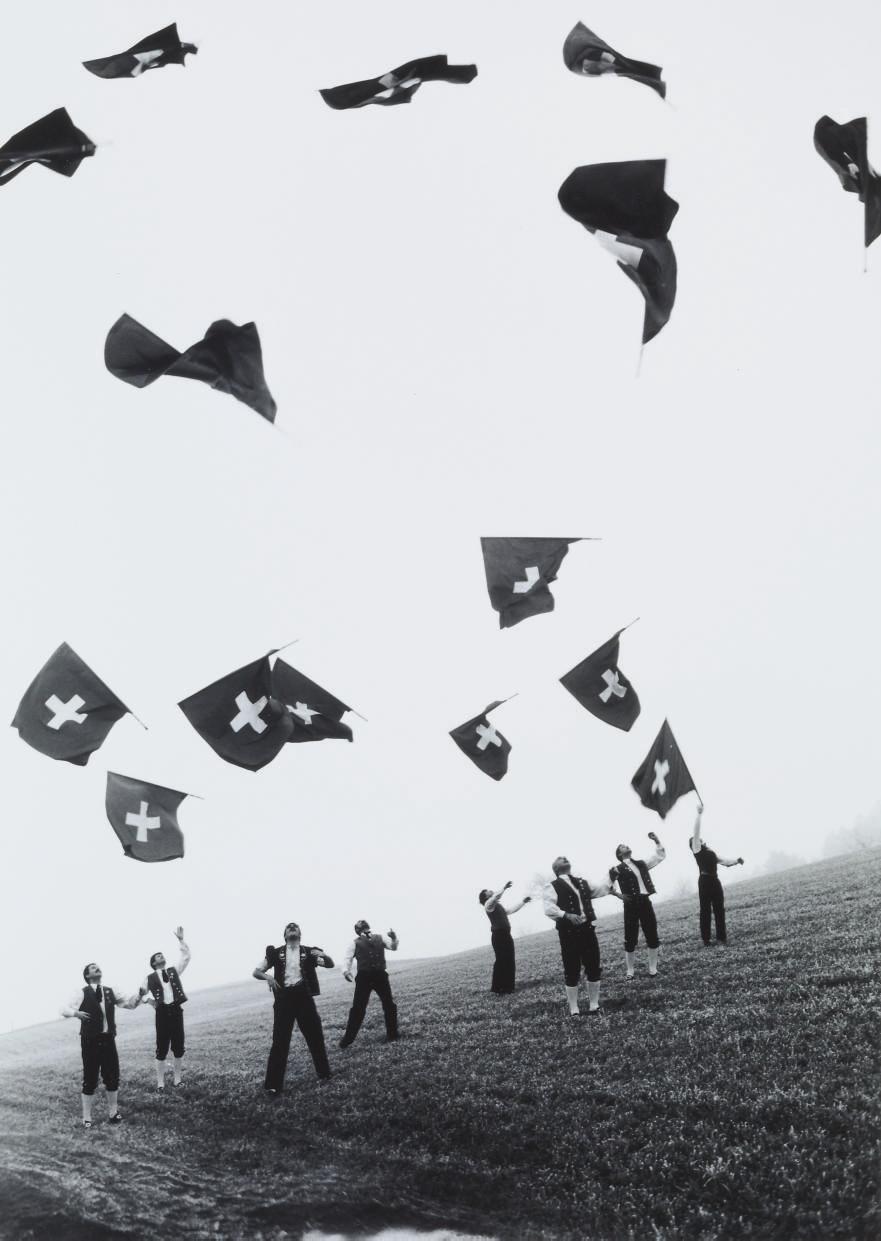 Fahnenschwinger, um 1980