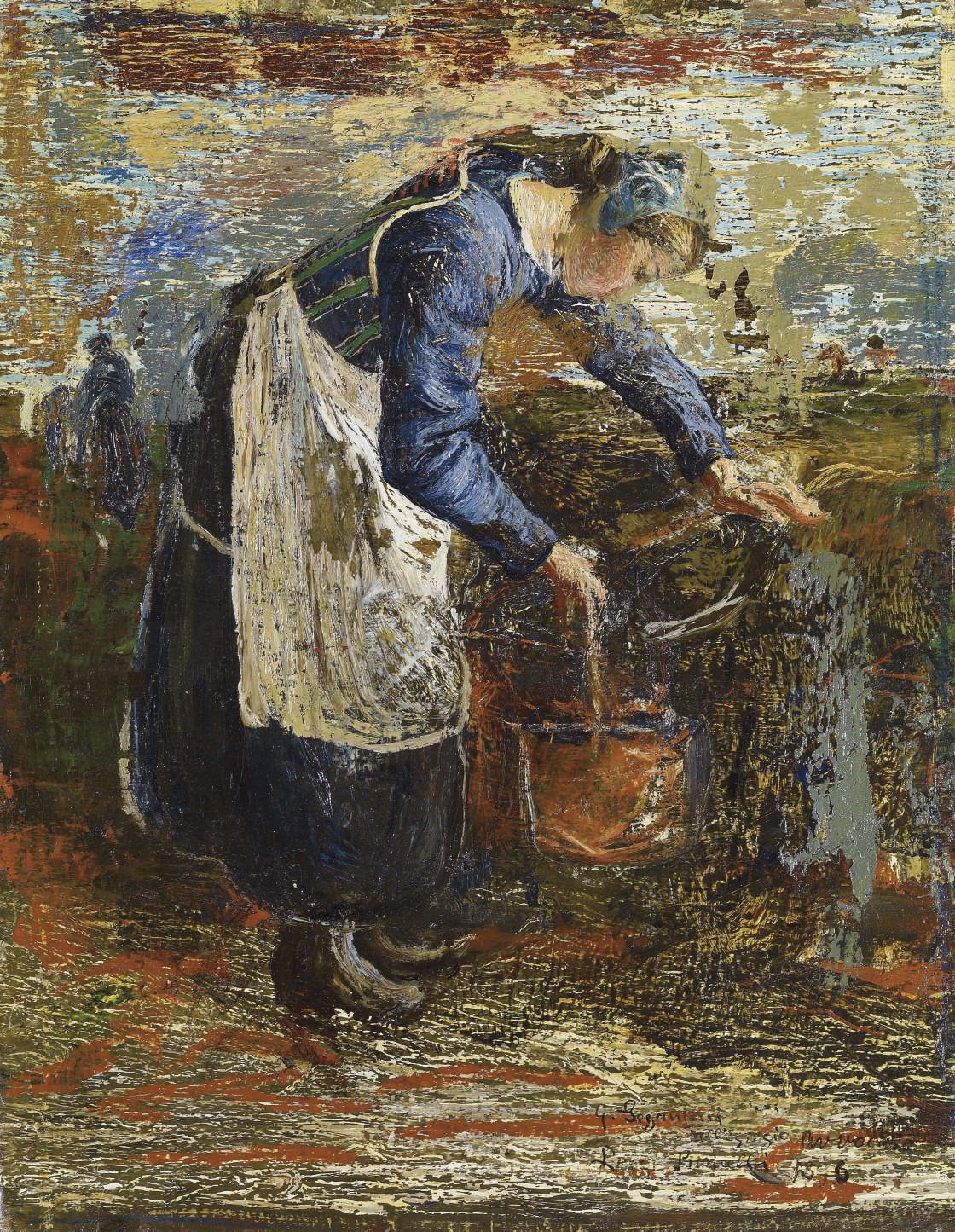 Frau am Brunnen, 1896