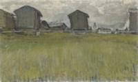 Raccards III, 1919 (Ölstudie)