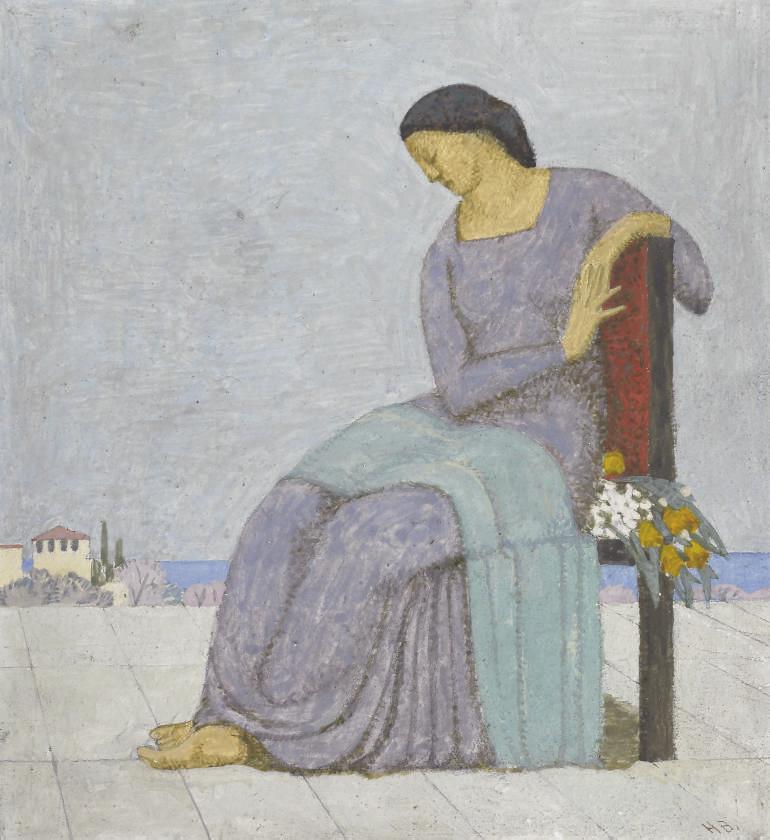 Sitzende Frau, 1907