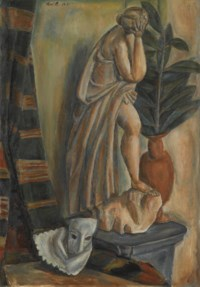 Nature morte au masque, 1918