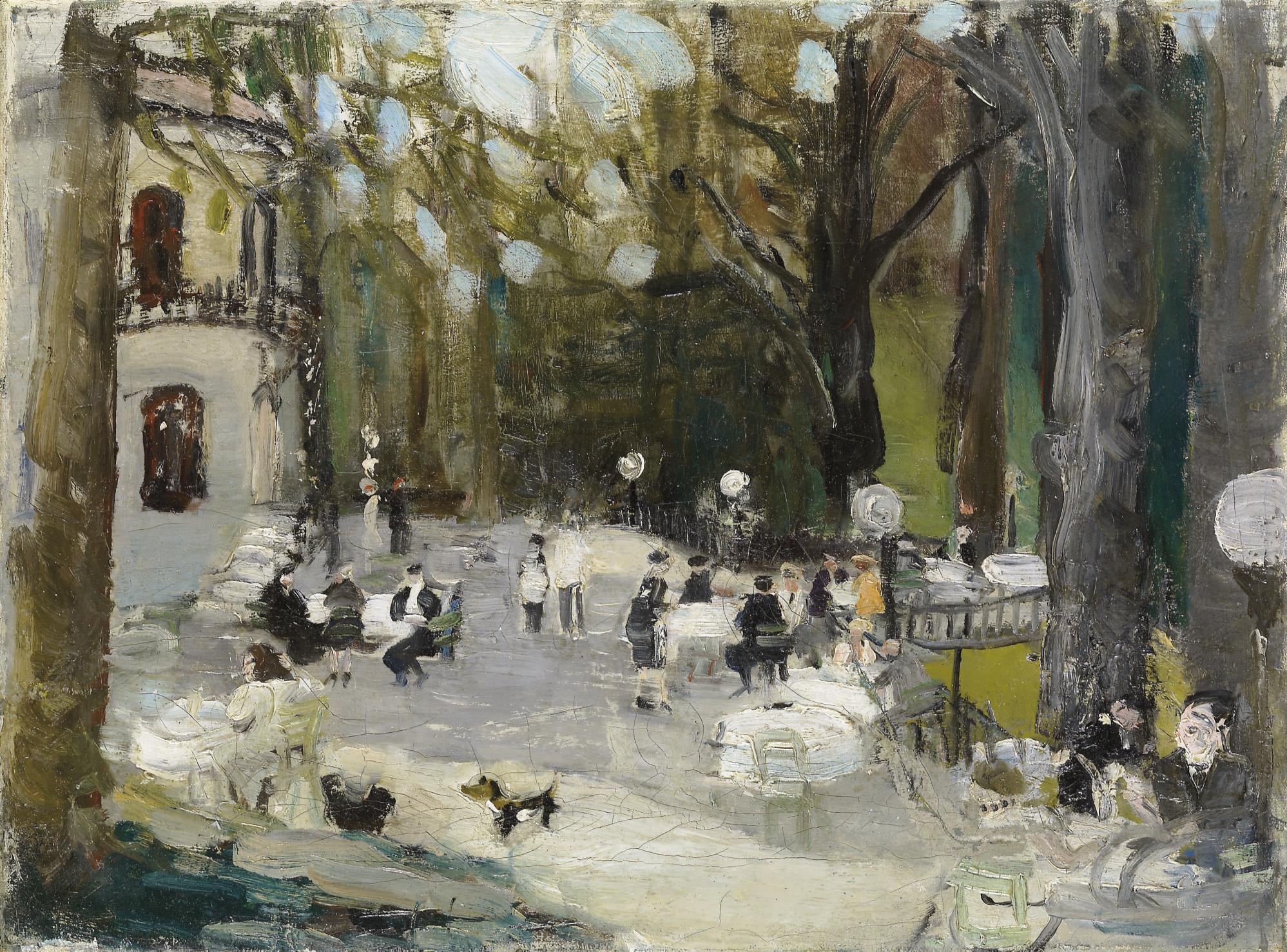 Café im Zürcher Belvoir-Park, 1935-37