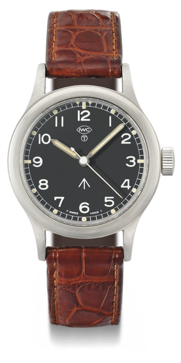 IWC. A stainless steel militar