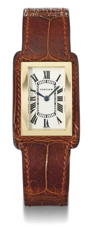 Cartier. An unusual 18K gold r