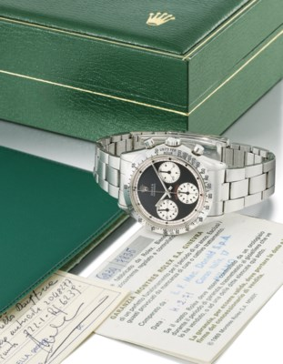 Rolex. A fine and rare stainle
