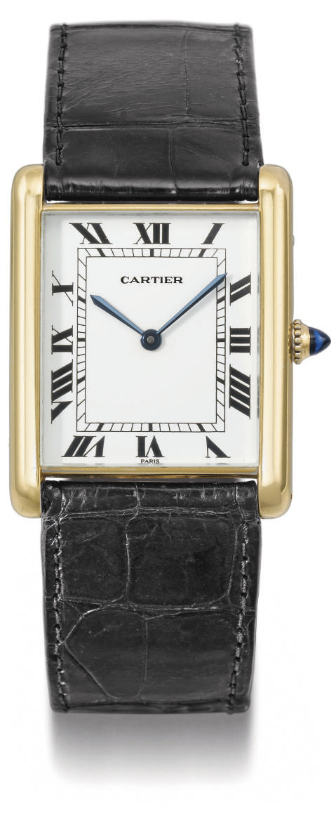 Cartier. A fine and large 18K