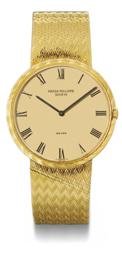 Patek Philippe. An 18K gold au