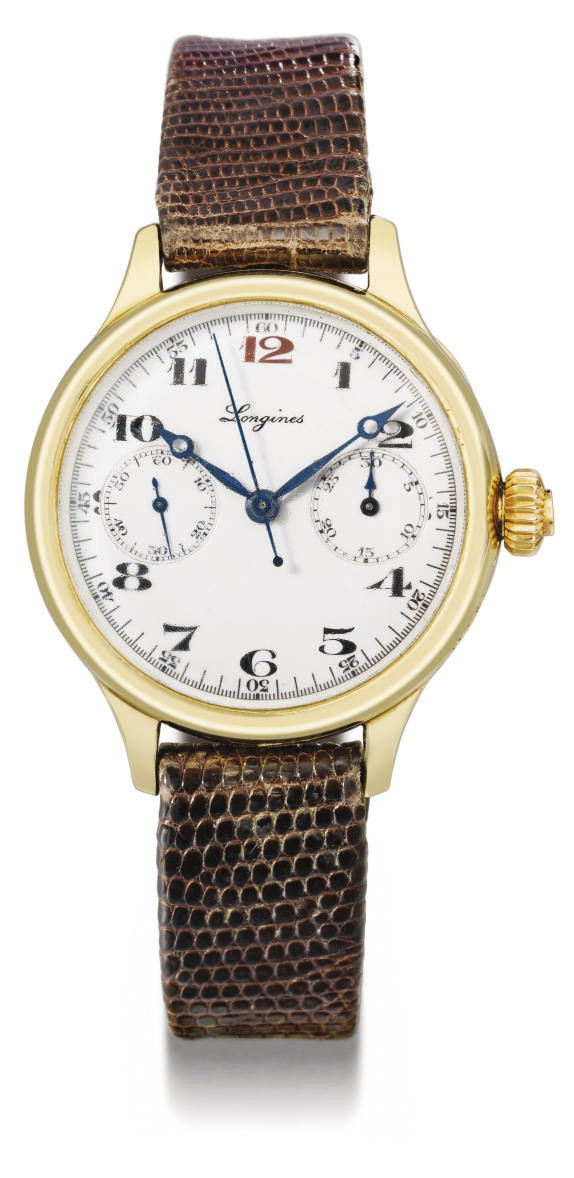 Longines. A fine and early 18K