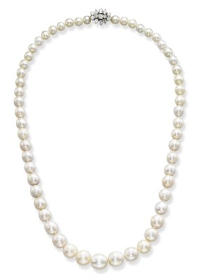 AN IMPORTANT NATURAL PEARL AND