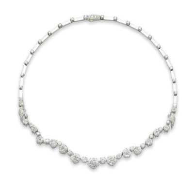 A DIAMOND NECKLACE, BY MEISTER