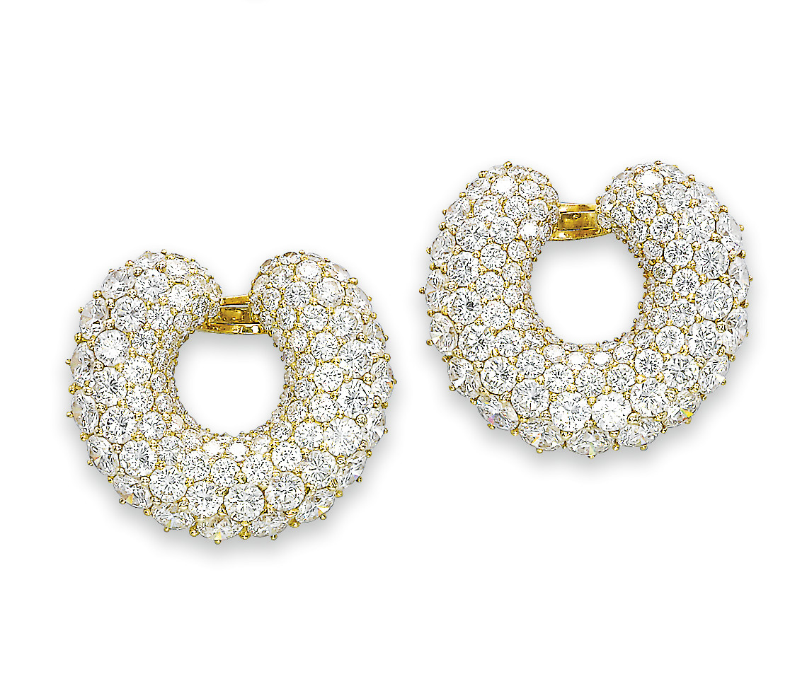 A PAIR OF DIAMOND 'MARRAKECH'