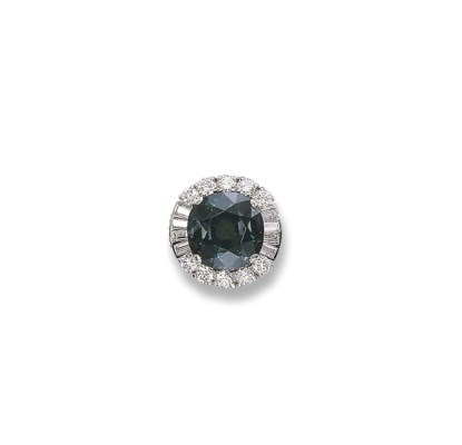 A FINE ALEXANDRITE AND DIAMOND