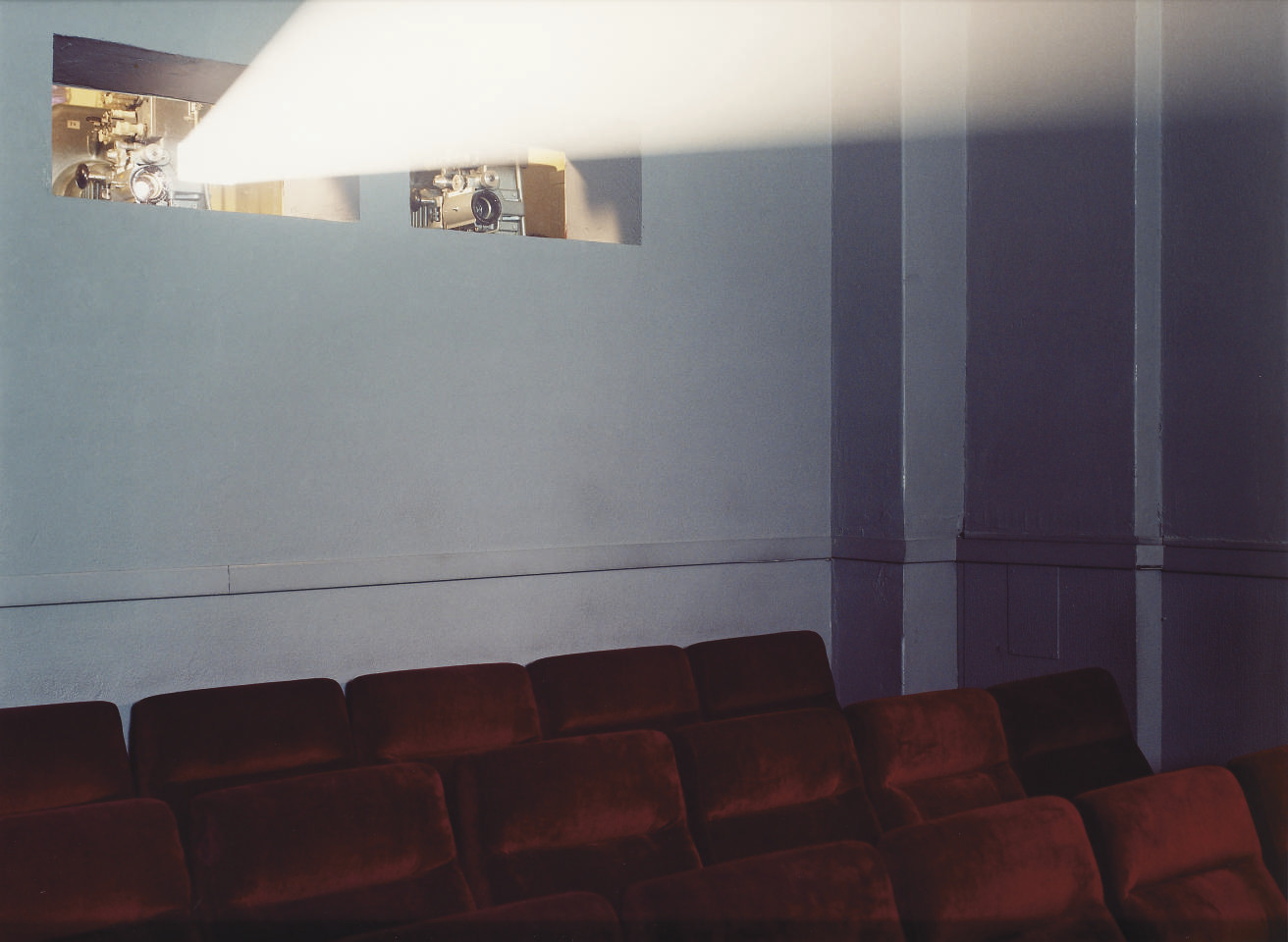 Arsenal (Projection in empty theatre), 2000 (3/6)