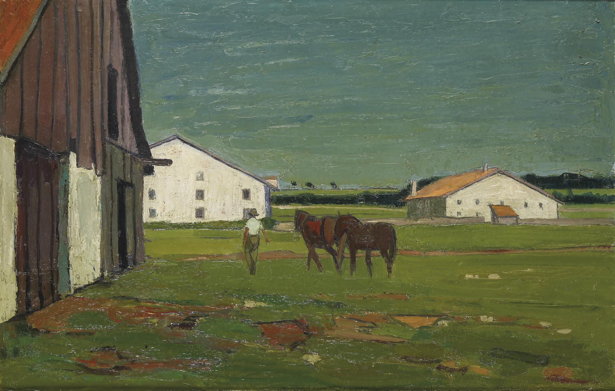 In den Freibergen, 1947