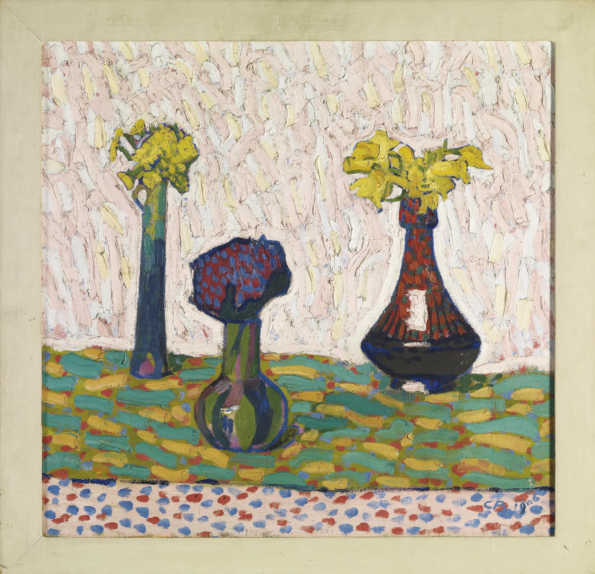 Stillleben mit drei Vasen, 1906