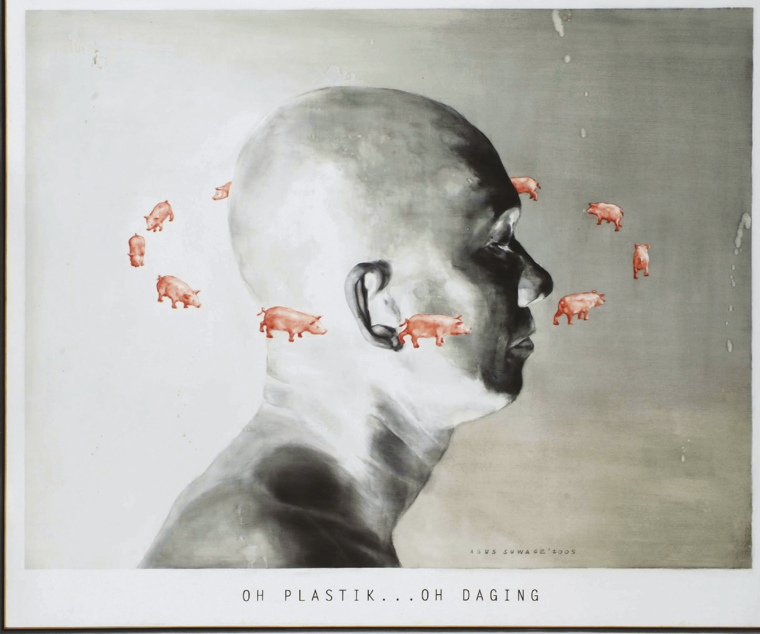 Oh plastik...oh daging (Oh plastic...oh meat)