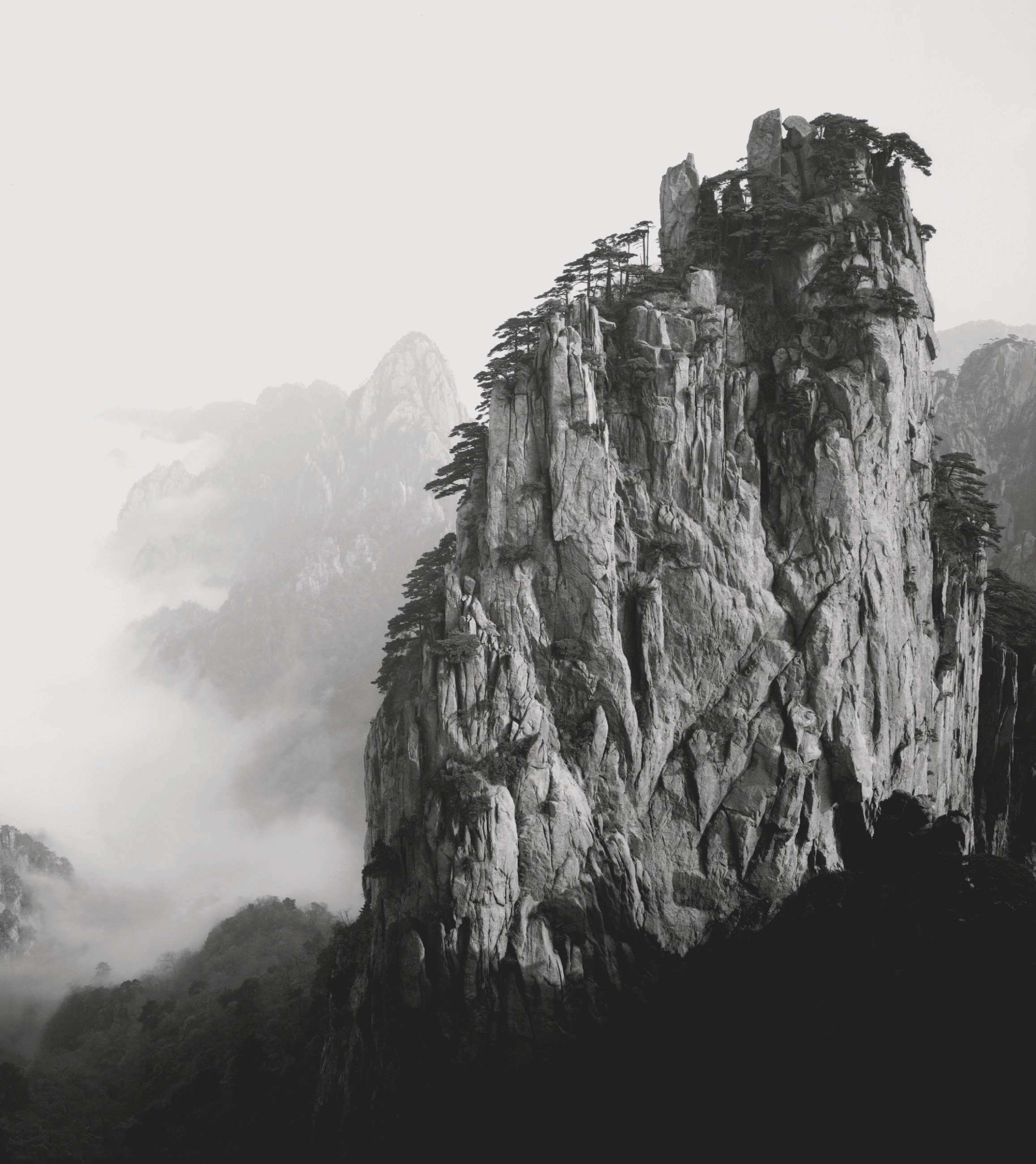 The majesty of Huangshan, Huangshan, China, 2007