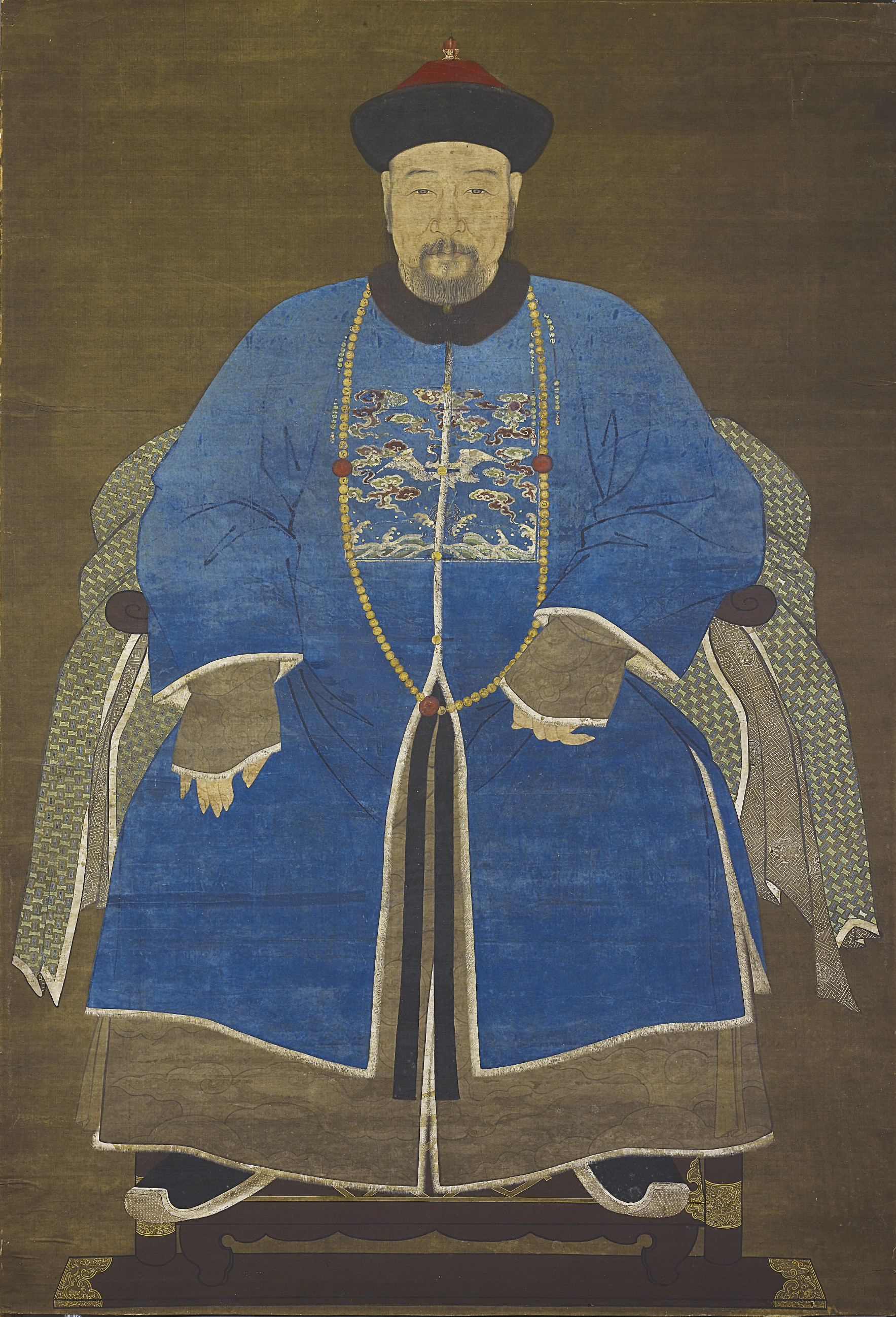A PORTRAIT OF A MANDARIN OF TH