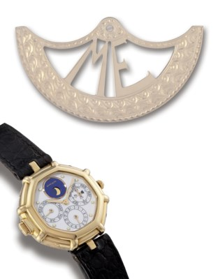 GÉRALD GENTA  18K GOLD SELF-WI