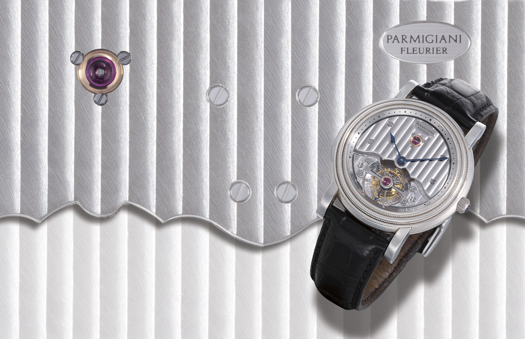 "PARMIGIANI, ""TORIC TOURBILLON""  950 PLATINUM MANUAL-WINDING TOURBILLON WRISTWATCH"