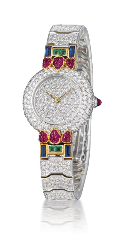CARTIER  LADY'S 18K WHITE GOLD