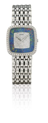 PIAGET  18K WHITE GOLD AND DIA