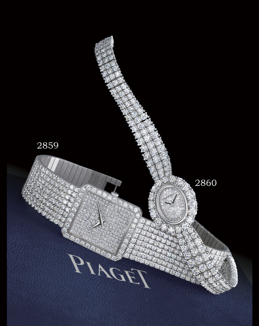 PIAGET  18K WHITE GOLD AND FUL