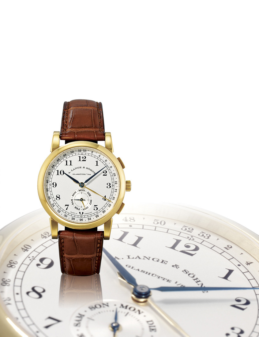"A. LANGE & SÖHNE, ""1815 KALENDERWOCHE""  18K GOLD MANUAL-WINDING WRISTWATCH WITH SMALL SECONDS AND CALENDAR-WEEK FUNCTION, LIMITED EDITION OF 50 PIECES TO MARK THE 150TH ANNIVERSARY OF UHREN HUBER, RENOWNED GERMAN RETAILER"