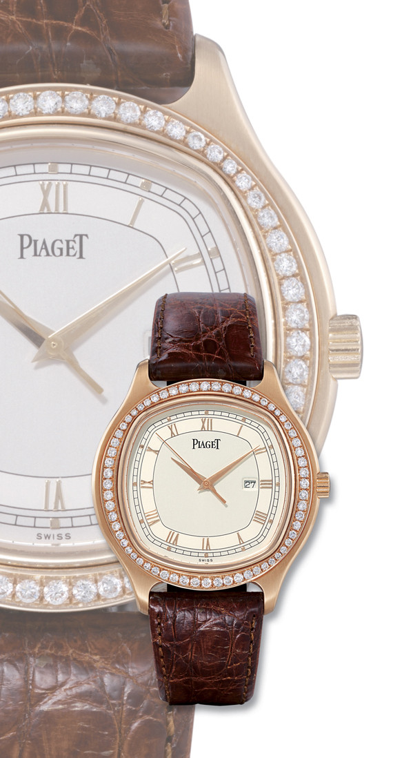 PIAGET  18K PINK GOLD AND DIAM