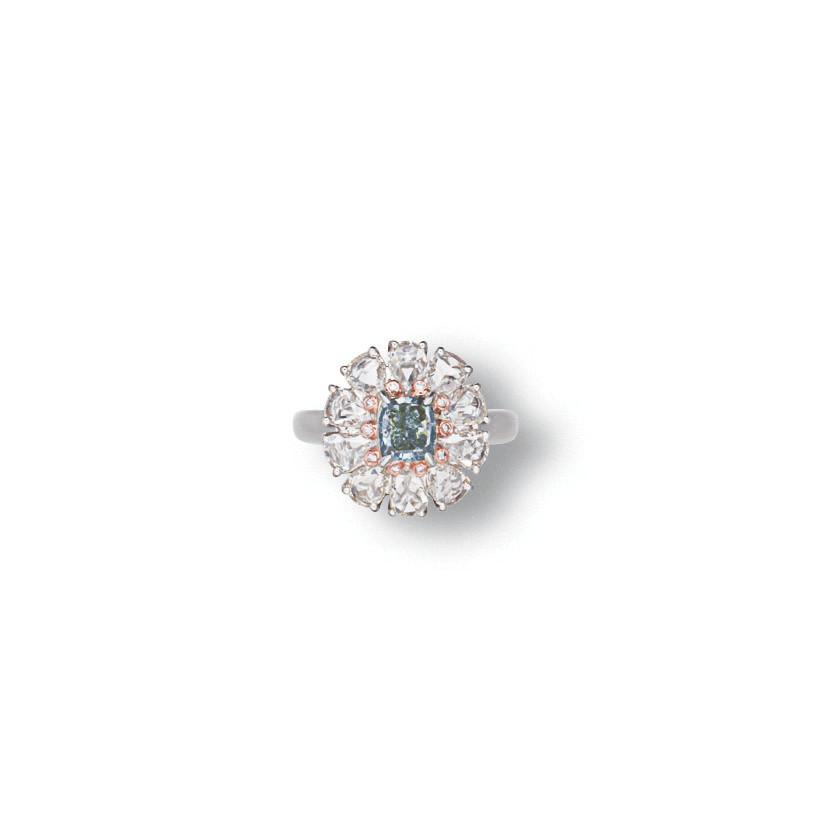 A COLOURED DIAMOND