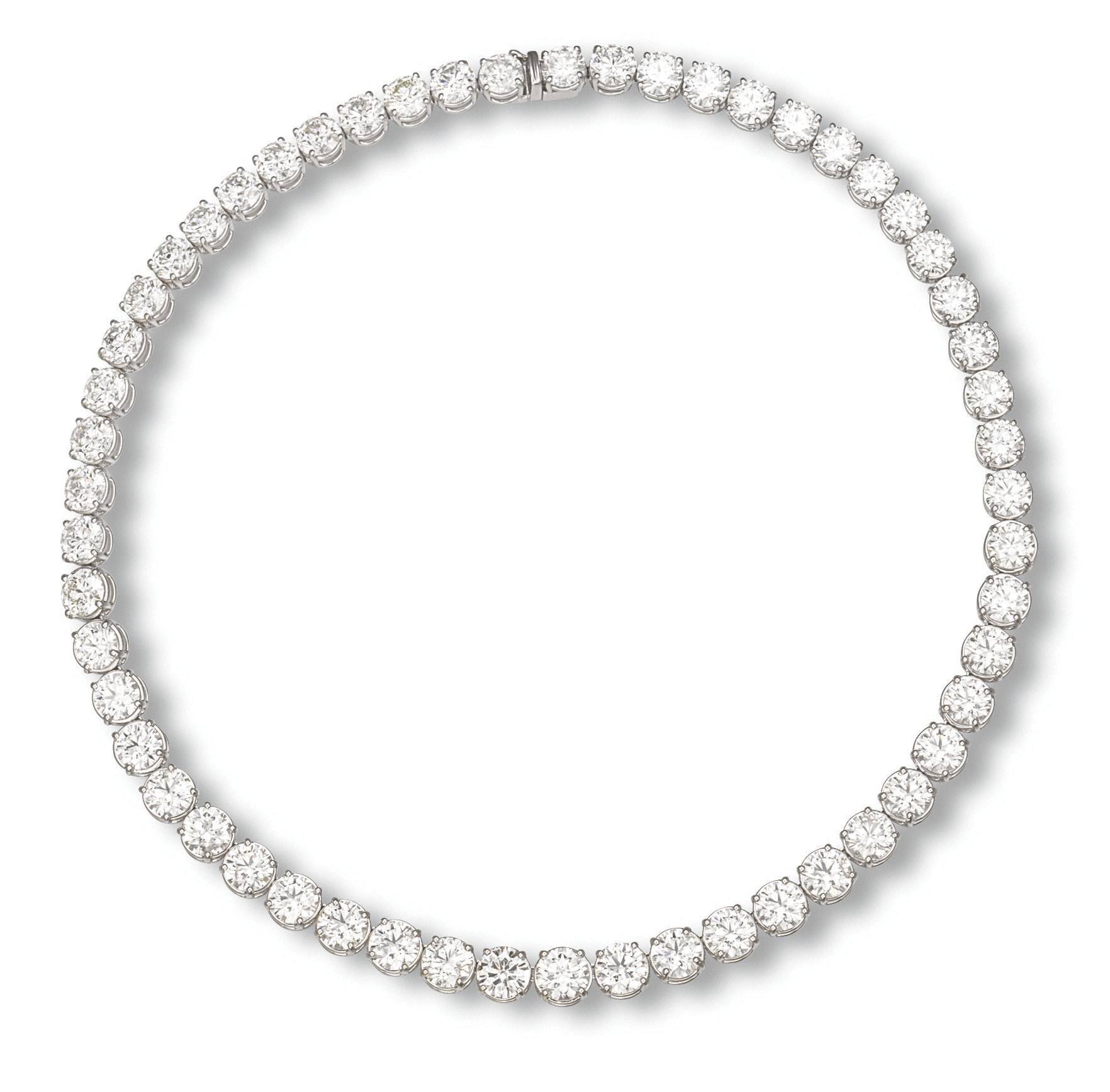 A DIAMOND RIVIERÈ NECKLACE