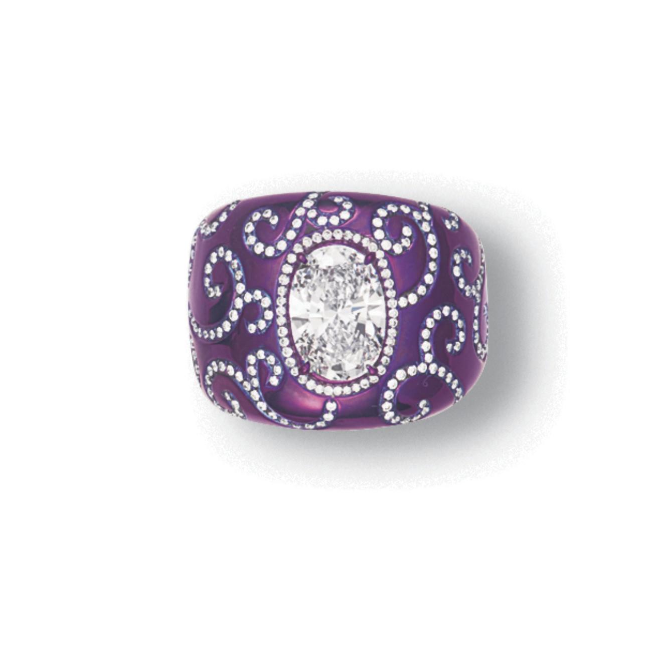 A DIAMOND RING, BY J. KOO