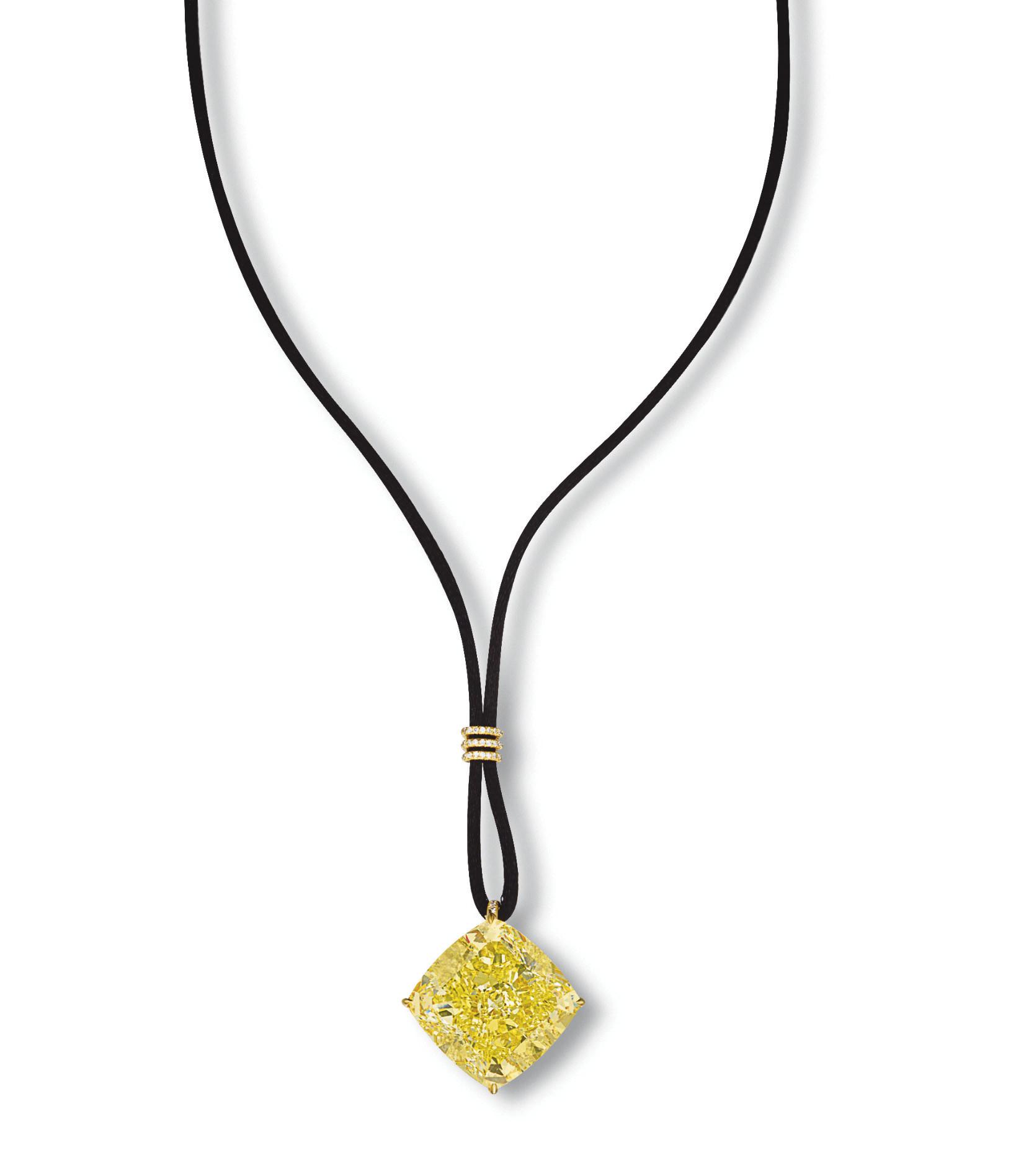 AN IMPORTANT COLOURED DIAMOND