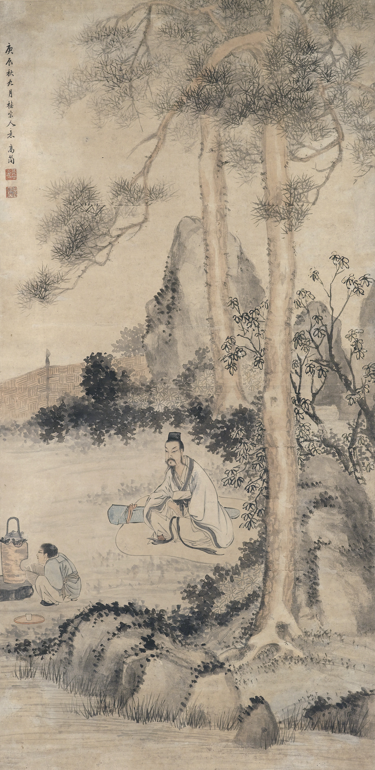 GAO JIAN (1634-1708)