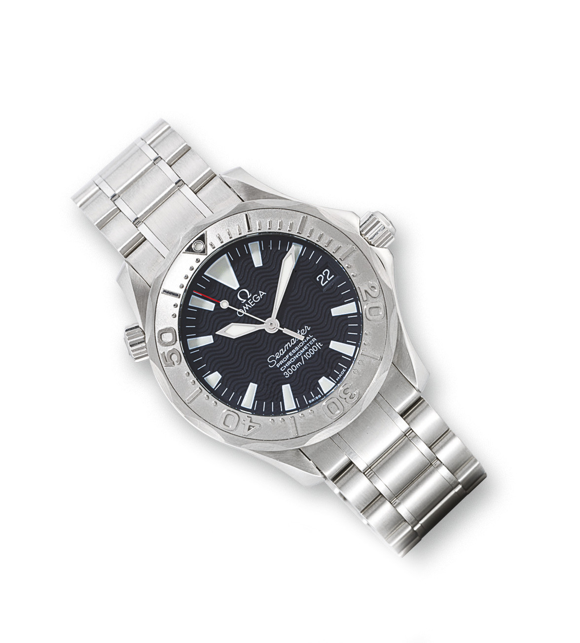 how to change date on omega seamaster professional