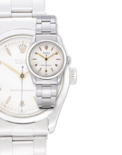 ROLEX, REF. 6244  STAINLESS ST