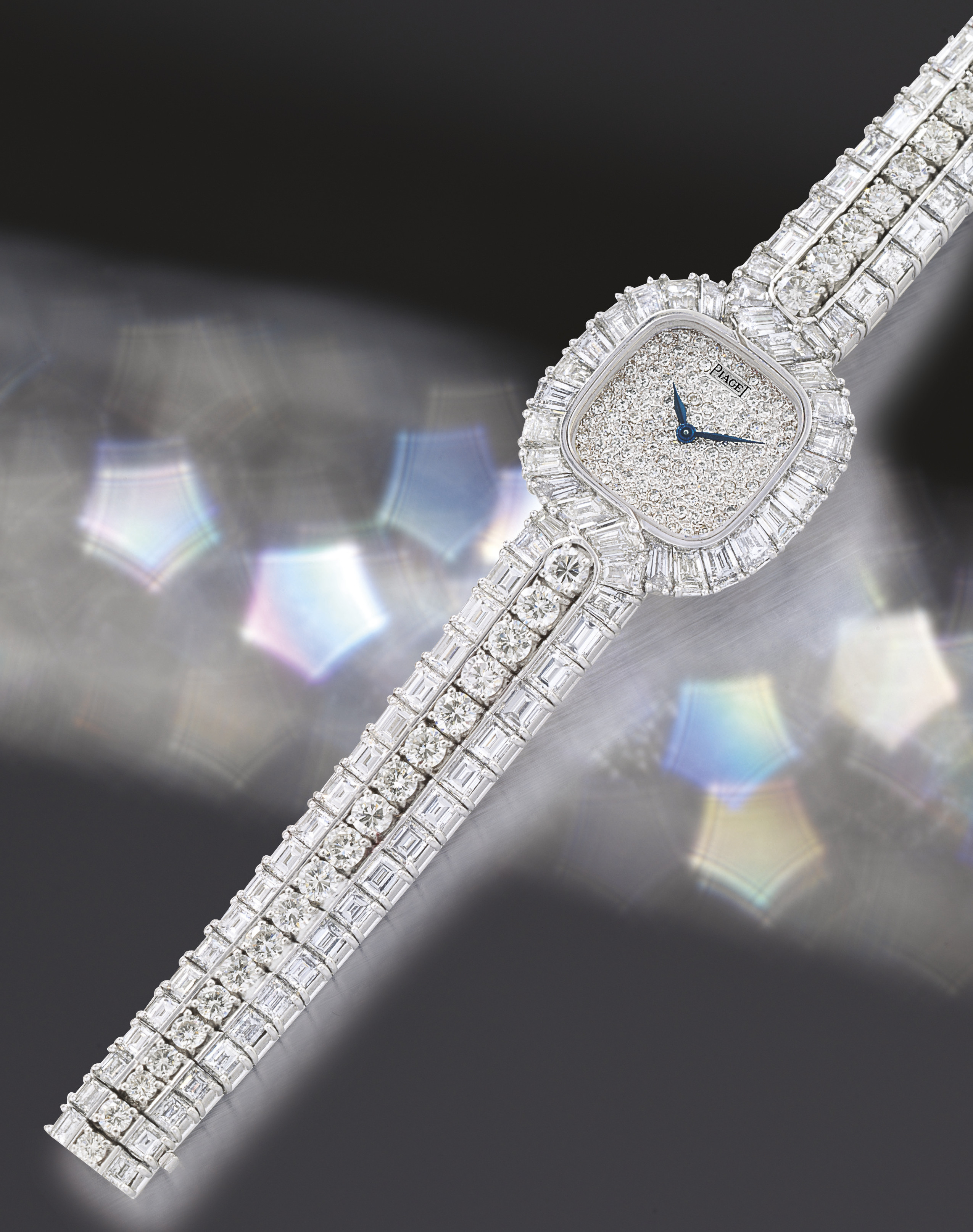 PIAGET  WHITE GOLD MANUAL-WIND