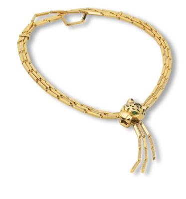 A DIAMOND AND GOLD 'PANTHÈRE'