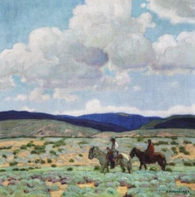 Ernest Martin Hennings (1886-1