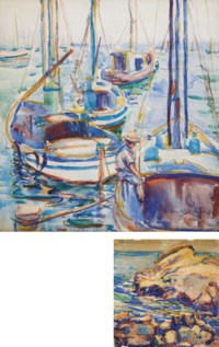 Fishing Boats from Monterey