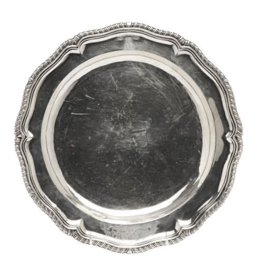 A GEORGE III SILVER SECOND COU