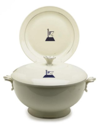 AN ITALIAN PORCELAIN PART DINN