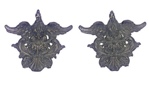 A PAIR OF CONTINENTAL PATINATE
