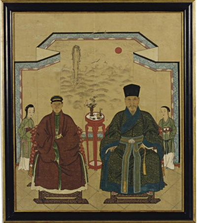 A CHINESE DOUBLE ANCESTRAL POR