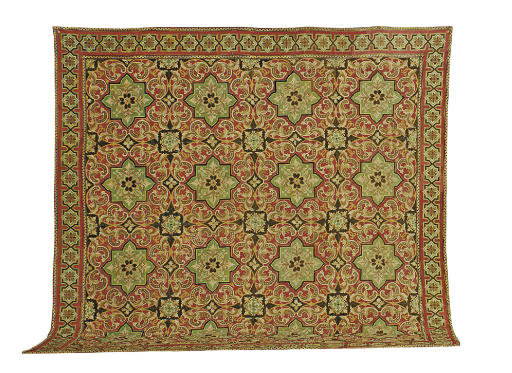 A FRENCH NEEDLEPOINT CARPET,