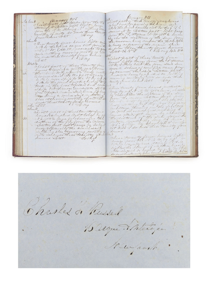 A LOGBOOK FOR THE WHALING BARK