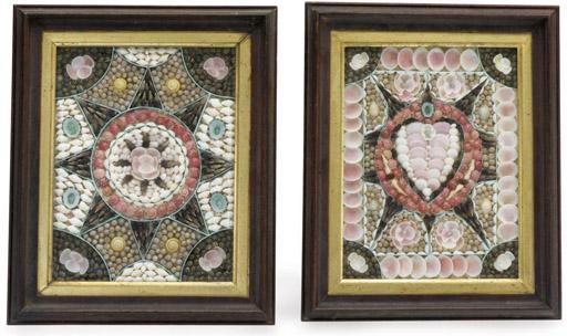 A pair of rectangular framed s