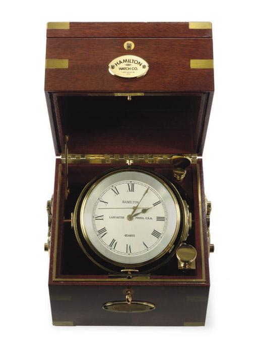 A modern marine chronometer in