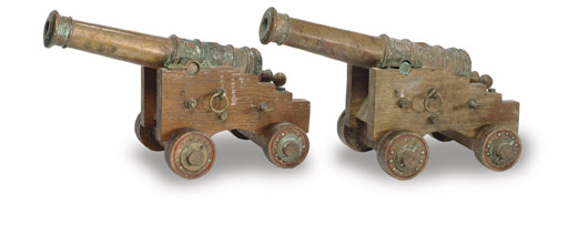 A pair of 19th Century signal